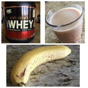 Workout protein