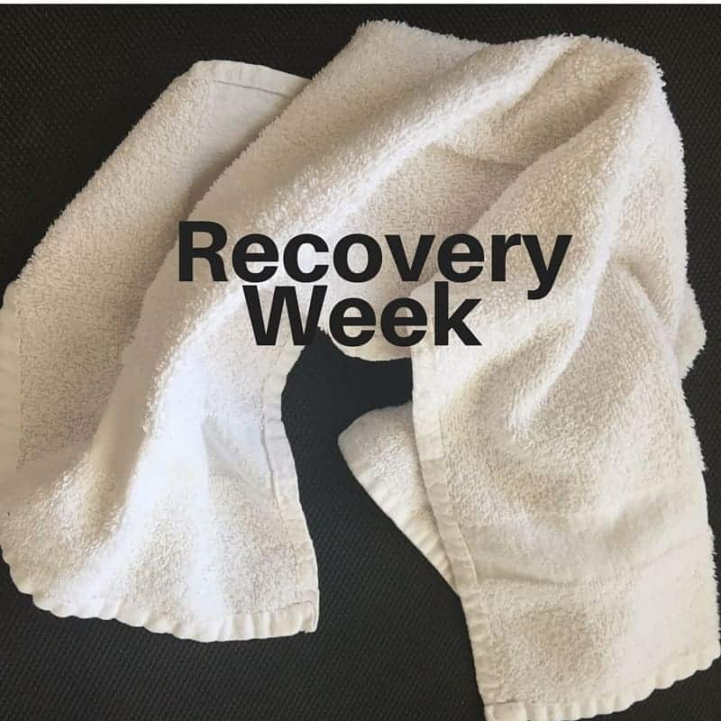 Making the Most of Recovery Week