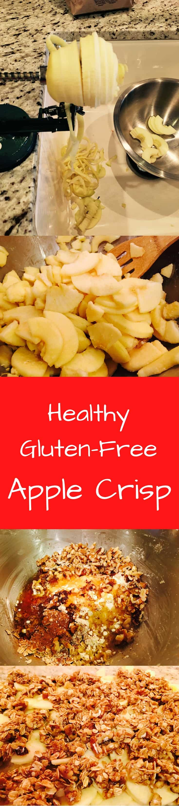 healthy gluten free apple crisp