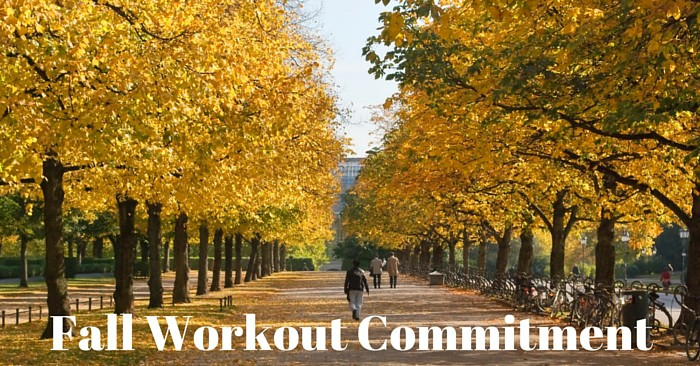 Motivation Monday: Fall Workout Commitment