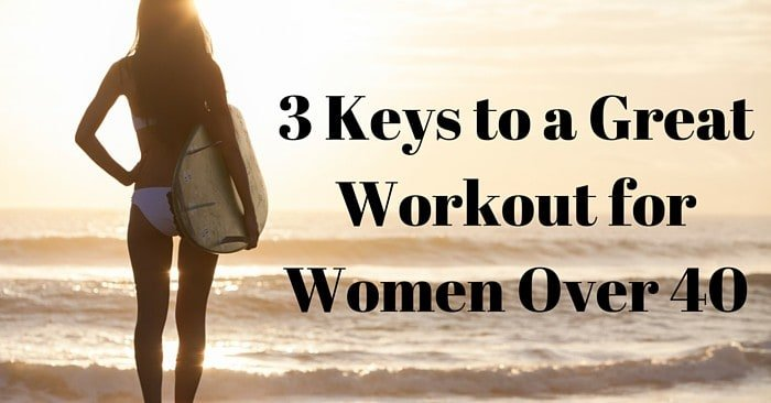 Are You Implementing These 3 Key Components of a Good Workout for Women Over 40 + Fitness Plan News