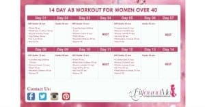 Join the 14 Day Ab Challenge Today!