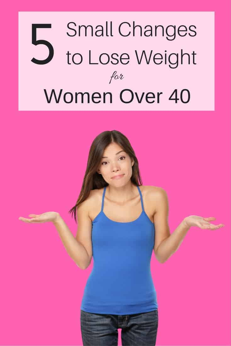 changes to lose weight
