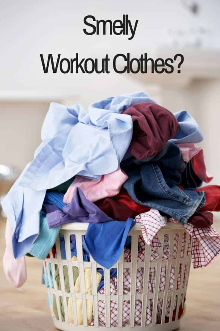 How to easily get the bad smell out of workout clothes for How to get bad smell out of armpits in shirts