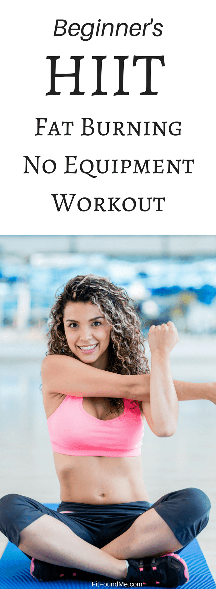 beginner's HIIT fat burning, no equipment workout