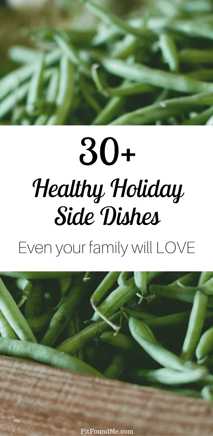 healthy holiday side dishes your family will love