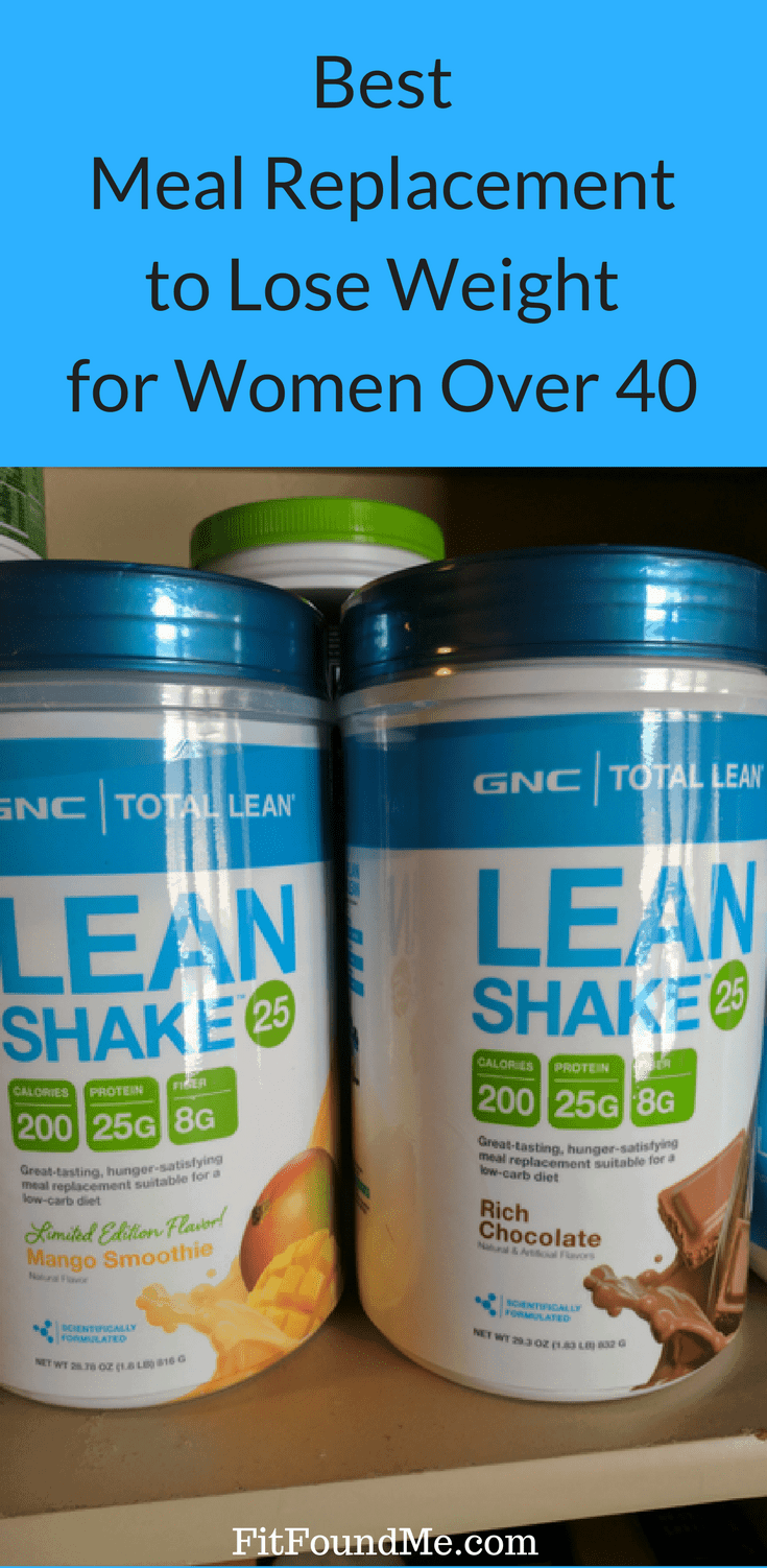 picture of GNC Lean Shake as a meal replacement to lose weight