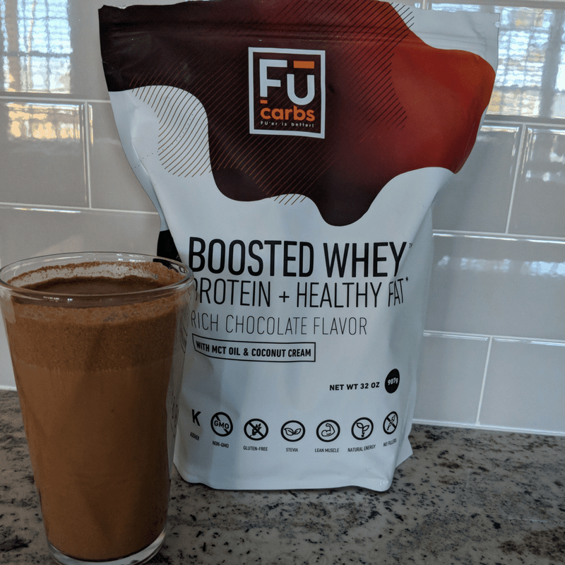 protein shake in a glass and protein powder a friday faves