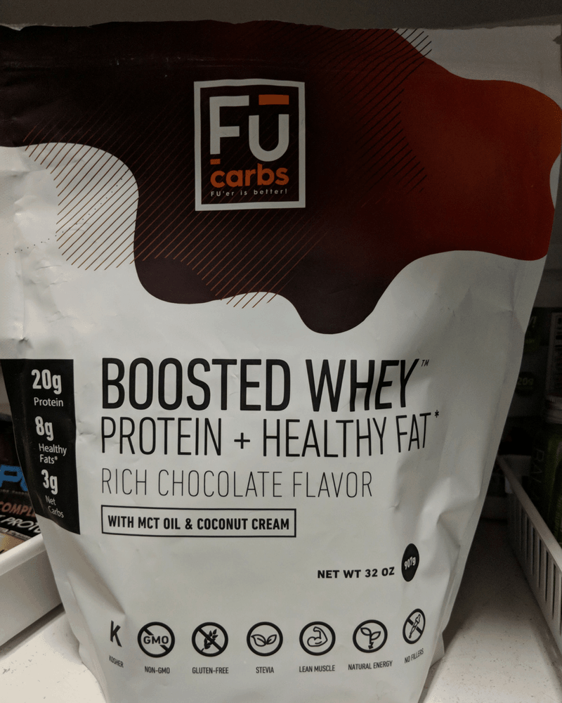 bag of fu carbs low carb protein powder to lose weight