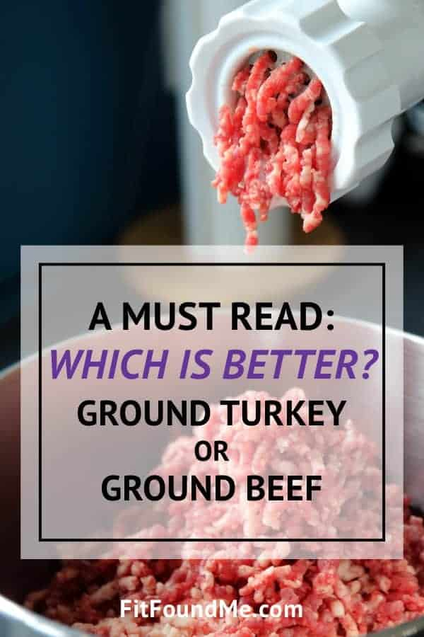 ground beef being ground