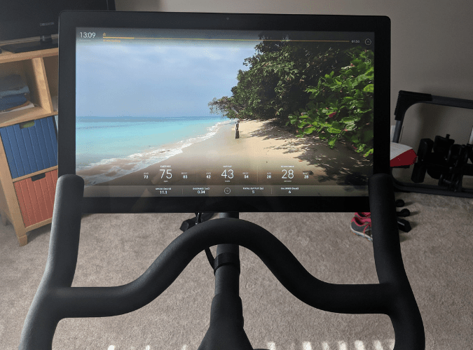spin workout at home scenic ride