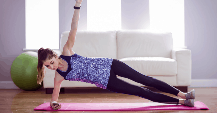 This Planks for Beginners Challenge Will Help You with Weight Loss