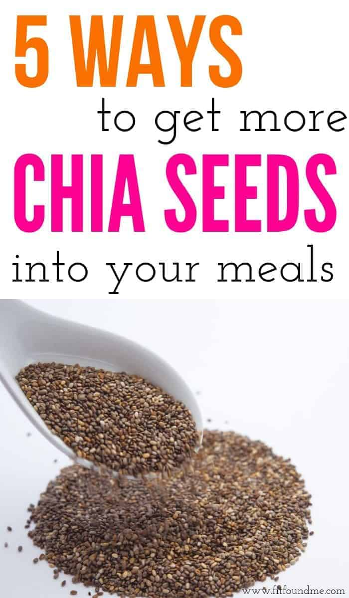 bowl and spoon full of chia seeds for weight loss